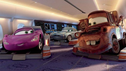 Holley Shiftwell y Mate (Cars 2)