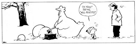 Calvin y Hobbes (Viñeta)