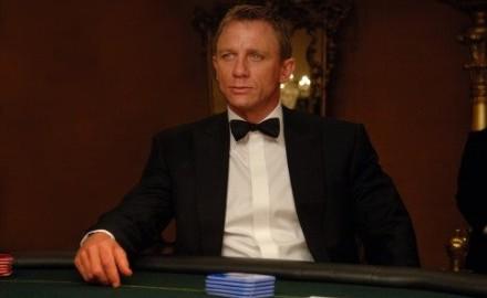 Daniel Craig en Casino Royale