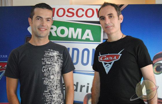 Juan Carlos Navarro y Eduardo Martín