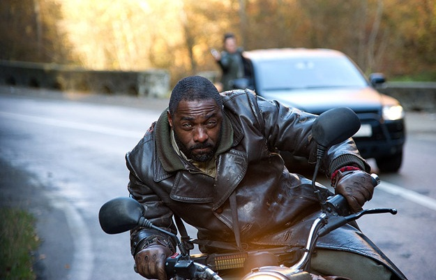 Idris Elba en Ghost Rider: Espíritu de Venganza