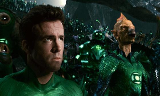 Ryan Reynolds como Hal Jordan en Green Lantern