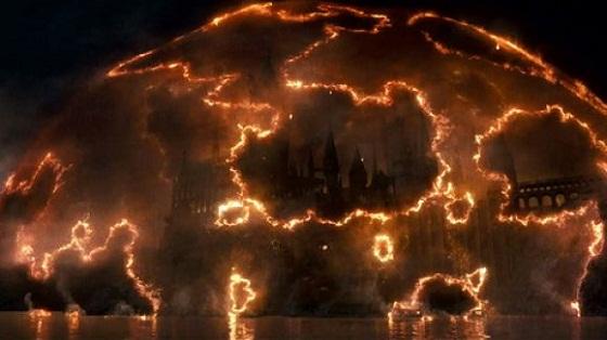 Hogwarts en Harry Potter y las Reliquias de la Muerte: Parte 2