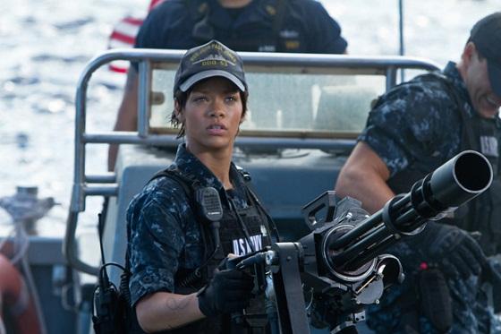 Rihanna en Battleship