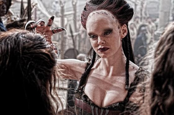 Marique (Rose McGowan) en Conan el Bárbaro