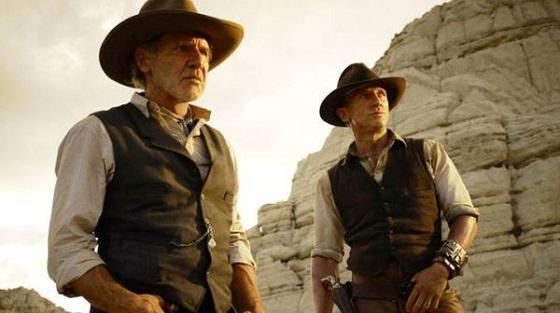 Harrison Ford y Daniel Craig en Cowboys & Aliens