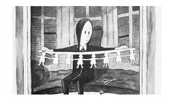 La Familia Addams - Miércoles