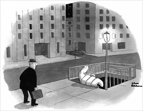 Las viñetas de Charles Addams