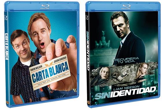 Carta Blanca y Sin Identidad en Blu-Ray y DVD