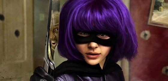 Chloe Moretz como Hit Girl