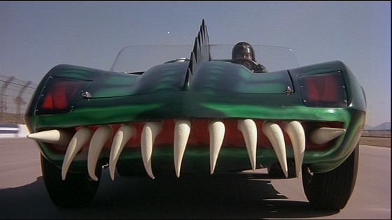 Coche de Frankenstein (David Carradine) en Death Race 2000