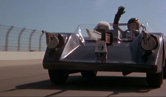 Coche de Metralleta Joe (Sylvester Stallone) en Death Race 2000