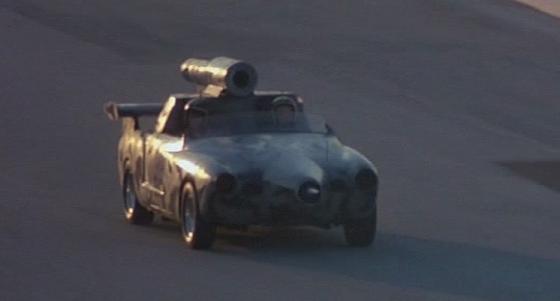 Un coche nazi en Death Race 2000