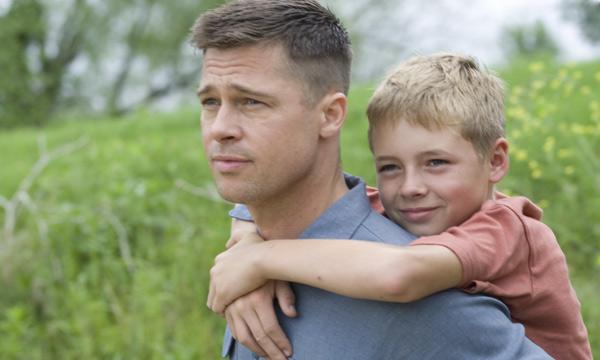 Brad Pitt en El Árbol de la Vida