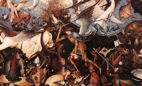 Una guerra entre Ángeles y Demonios