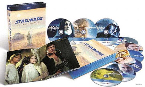 Star Wars: La Colección completa en Blu-Ray