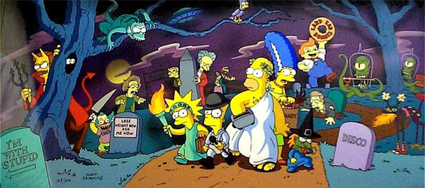 La casa-árbol del Terror (The Treehouse of Horror)