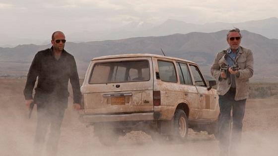 Robert de Niro y Jason Statham en Killer Elite