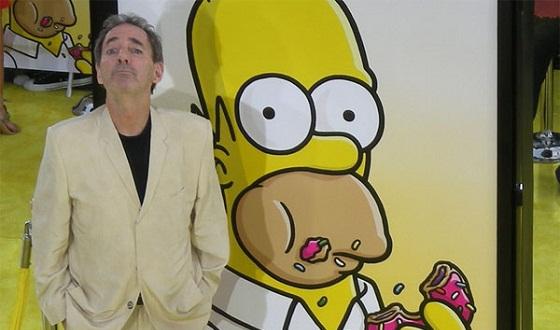 Harry Shearer en la presentación de Los Simpson, La Película