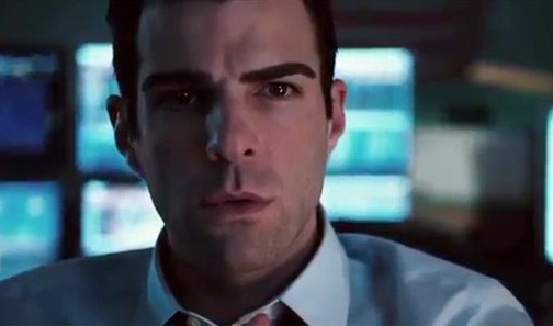 Zachary Quinto en Margin Call