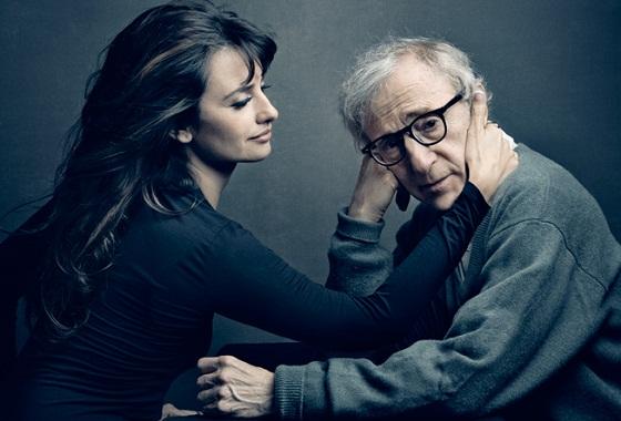 Woody Allen y Penélope Cruz