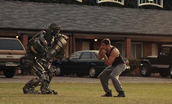 Acero Puro - Hugh Jackman y Atom
