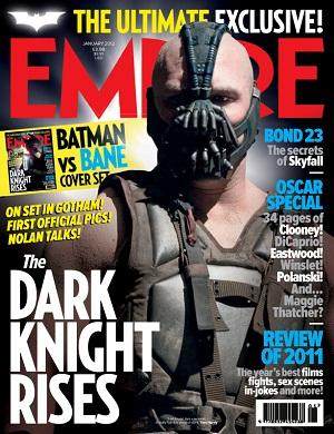 Bane en la portada de Empire