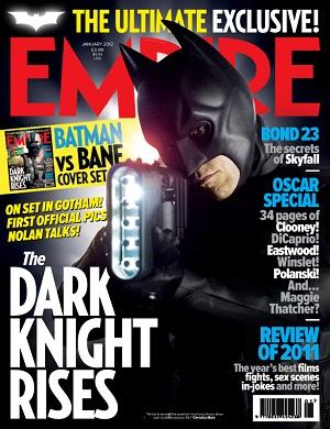 Batman en la portada de Empire