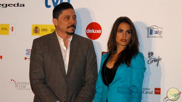 Carlos Bardem y Verónica Echegui