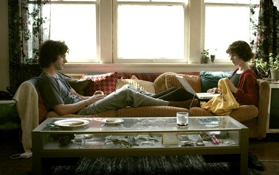 Miranda July y Hamihs Linklater en El Futuro