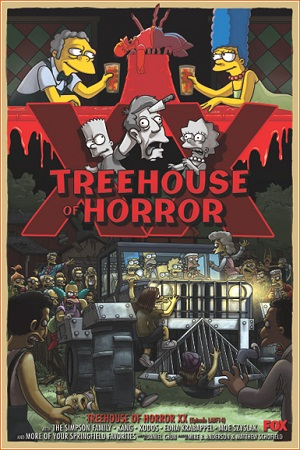 Los Simpson - Treehouse of horror 20