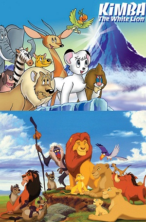 Kimba, el león blanco y El Rey León
