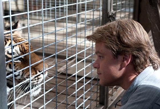Matt Damon en Un Lugar para Soñar (We Bought a Zoo)