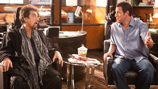 Adam Sandler y Al Pacino en Jack y su Gemela