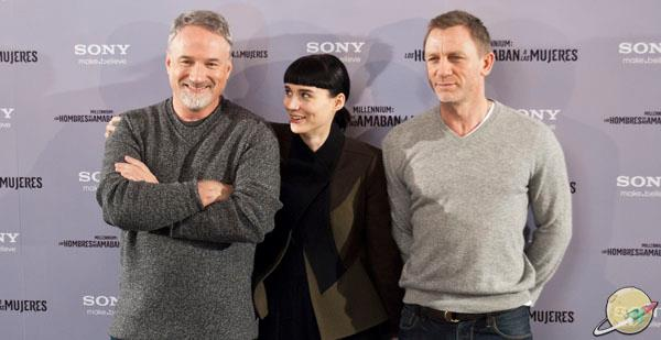 Millennium / David Fincher, Rooney Mara and Daniel Craig