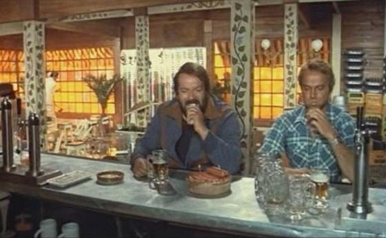 Bud Spencer y Terence Hill en ... y si no, nos enfadamos