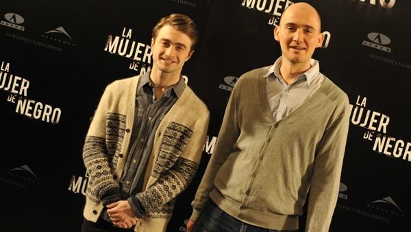 James Watkins and Daniel Radcliffe