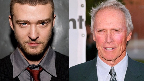 Justin Timberlake y Clint Eastwood