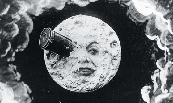 La Invención de Hugo - Viaje a la Luna, de Georges Méliès
