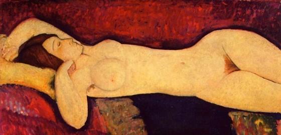 Modigliani - Desnudo Recostado