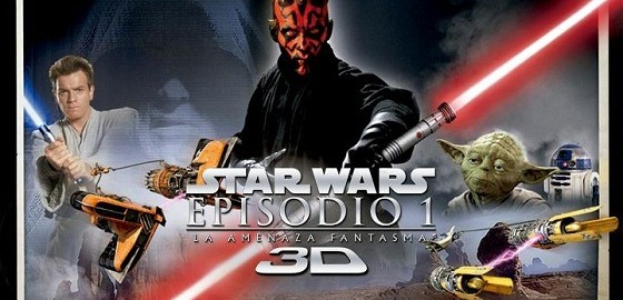 Star Wars: Episodio 1 en 3D