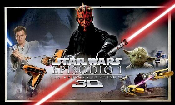Star Wars: Episodio 1 en 3D