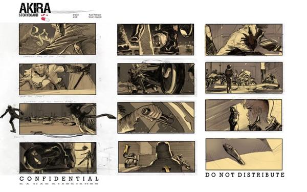 Akira / Storyboard Sylvain Despretz