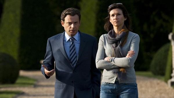 Denis Podalydès y Florence Pernel como Nicolas y Cécilia Sarkozy