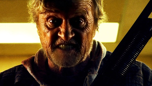 Rutger Hauer en Hobo with a Shotgun