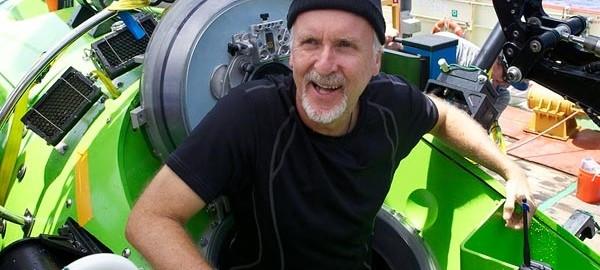 James Cameron, a bordo del Vertical Torpedo