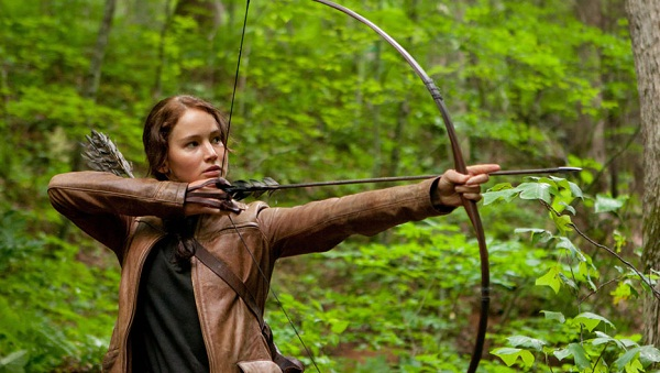 Jennifer Lawrence en Los Juegos del Hambre