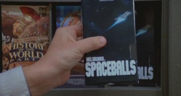 Piratería del VHS de Spaceballs
