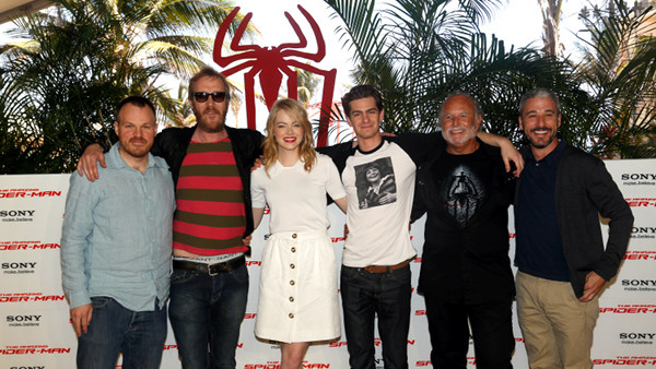 The Amazing Spider-Man Photocall