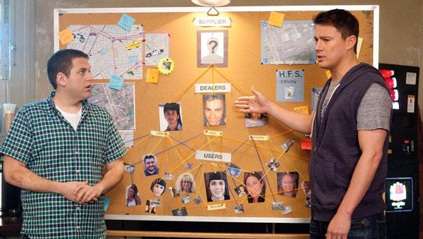 Jonah Hill y Channing Tatum en Infiltrados en Clase